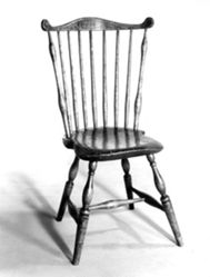Fan Spindle-Back Side Chair