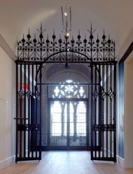 Gates and Transom from the Third Floor of the Old Art Gallery