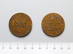 Bronze Medal from Belgium of Store Token