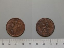Half Penny from Lower Canada