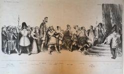 La cour du roi Pétaud (The Court of King Pétaud), from the journal La caricature