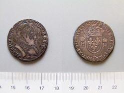 1 Teston of King Francois I from Bayonne