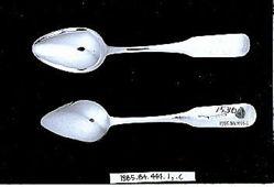 Six teaspoons
