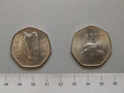 50 Pence from Ireland