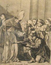 Saint Benno Receiving the Keys of Meissen