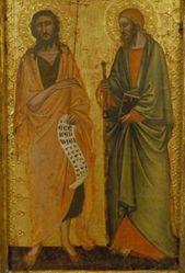 Saints John the Baptist and James