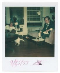 Untitled [John McDonald and Unidentified Women at Home, 46 Morton Street, New York City]