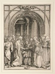 The Betrothal of the Virgin, from The Life of the Virgin