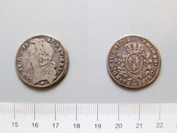 Silver 1/10 Écu of Louis XV of France