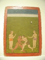Raga Malava : leaf from a Ragamala