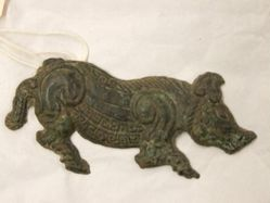 Belt Plaque in the Shape of a Boar
