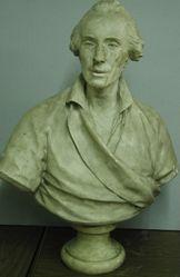 Buste de Marquis de Mejane --  Houdon