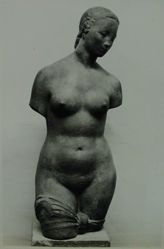 "Photograph of Wilhelm Lehmbruck's ""Female Torso,"" ca. 1911-14, cast stone [YUAG 1953.6.5] -- from Katherine S. Dreier's private collection"