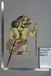 Shadow Puppet (Wayang Kulit) of Pragalbo, from the set Kyai Drajat