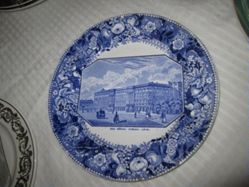 Plate with view of Dos Konigl. Schloss, Berlin