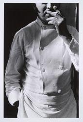 (Untitled) Man Smoking, from the portfolio, CHIAROSCURO, 1982