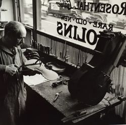 Rosenthal, the violin maker