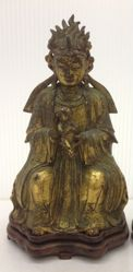 One of a Pair of Daoist Deities: Songzi Niangniang
