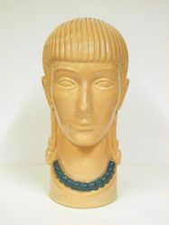 Head of a Young Woman with a Necklace