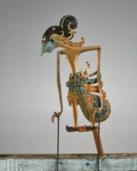 Puppet (Wayang Klitik) of Yudistira