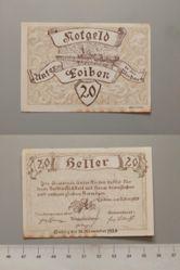 20 Heller from Loiben, Notgeld