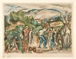 Les vendanges (The Harvest)