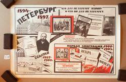 Peterburg 1894–1897 g. Ssylka 1897–1900 g. Pervaia emigratsiia 1900–1905 g. (Petersburg, 1894–1897. Exile, 1897–1900. First Emigration, 1900–1905.)