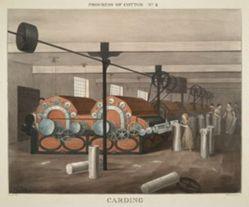 Progress of Cotton: #4 - Carding