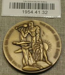Medal for the Society of Medalists 43rd Issue, 1951