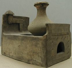 Stove with Hu-shaped Vessel