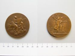 Bronze Medal of Mme V. F. Dupuis for the School of Albert le Grand, at Arcueil from France