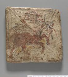 Tile with Centaur