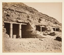 Grottes de Beni-Hassan, Egypt (Grottos of Beni-Hassan, Egypt)