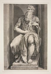 Statue of Moses from the Tomb of Julius II