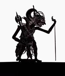 Shadow Puppet (Wayang Kulit) of Kangsa