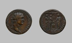 1 As of Domitian, Emperor of Rome from Rome