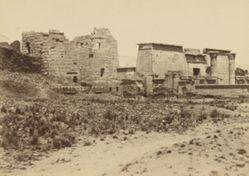 Medinet Habu: High Gate with Roman Columns