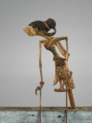Puppet (Wayang Klitik) possibly of Emban