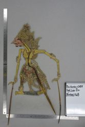 Shadow Puppet (Wayang Kulit) of Baladewa, from the set Kyai Drajat