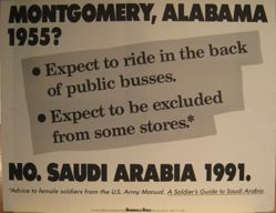 Montgomery, Alabama 1955?, from the Guerrilla Girls' Compleat 1985-2008