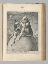 Melancholicus (Air), plate 3 of 4 prints from the series The Four Temperaments