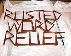 Rusted Word Relief