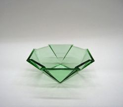 """Bowl, """"Geometric"""" Pattern"""