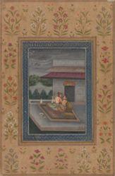 Ragini Sarang, from a Garland of Musical Modes (Ragamala) manuscript