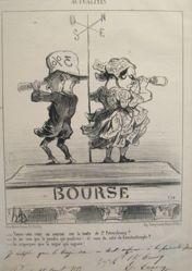 (Bourse) Voyez-vous un courier . . . ? (Can You See a Messenger . . . ?), from Actualités