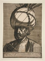 Portrait of Ismael, Persian Ambassador of Techmas, King of Persia