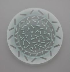 """Dots and Dash"" Plates"