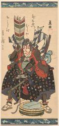Kyōgadō Ashikuni, Nakamura Utaemon III Plays the Role of the Courtesan, from the series Twelve Roles [of Kabuki Plays]