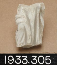 Lower Part of Statuette of Draped Figure