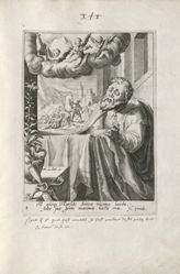 Paul, 1 of 8 prints from the series Eight Repentant Sinners from the Old and New Testament
